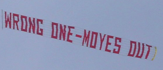 moyes out