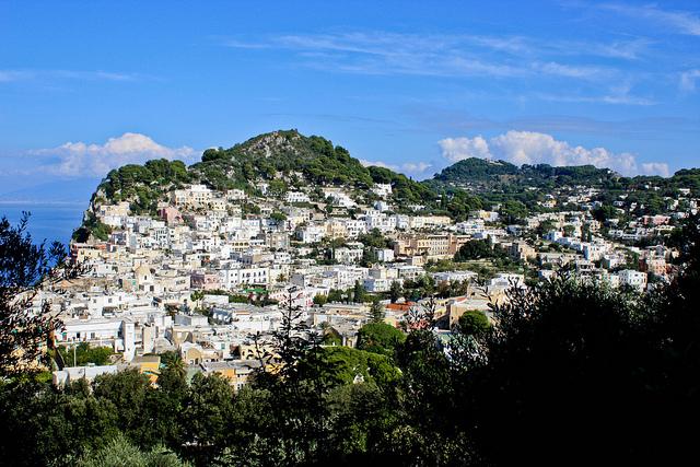 The isle of Capri