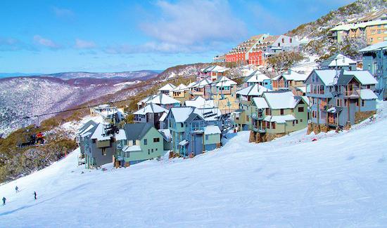 skiing downunder