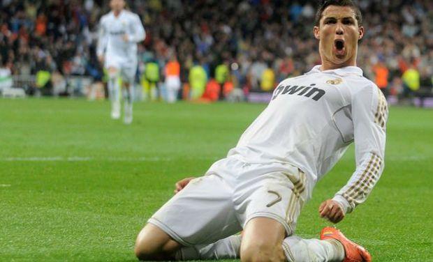 celebration of Ronaldo