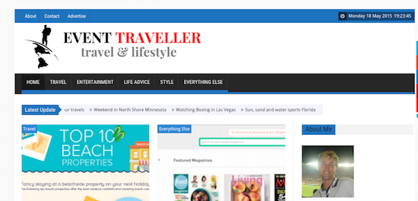 Travel Writing: New Website Strategy