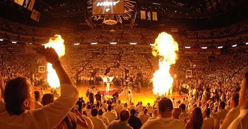 heat - flames